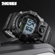 Spesifikasi Skmei Merek Watch Pria Wanita Rusia Berbicara Jam Olahraga Watch Digital Clock El Lampu Luar Olahraga Jam Tangan Alarm Relogio 1162 Intl Dan Harganya