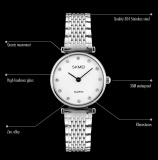 Model Skmei Merek Watch A Wanita Wanita Jam Tangan Montre Femme Fashion Wanita Jam Tangan Perempuan Jam Gaun Quartz Watch Lady Arloji 1223 Intl Terbaru