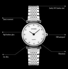 Jual Beli Online Skmei Merek Watch A Wanita Wanita Jam Tangan Montre Femme Fashion Wanita Jam Tangan Perempuan Jam Gaun Quartz Watch Lady Arloji 1223 Intl