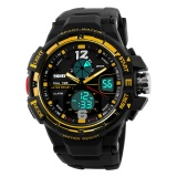 Review Skmei Merek Watch1148 Fashion Watch G Gaya Tahan Air Led Olahraga Militer Jam Tangan Shock Pria Pria Analog Quartz Digital Watch Relogio Masculino Intl Terbaru