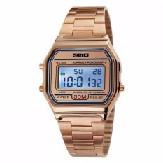 Rp 129.900. SKMEI Digital Casual Men Stainless Strap Watch Anti Air Water Resistant WR 30m DG1123 Jam Tangan ...