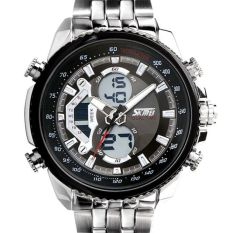 Diskon Skmei Casio Men Sport Led Watch Water Resistant 50M Ad0993 Black