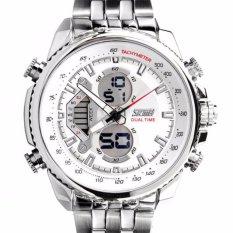 Harga Skmei Casio Men Sport Led Watch Water Resistant 50M Ad0993 Putih Yang Murah Dan Bagus