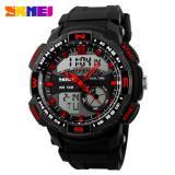 Beli Skmei Casio Men Sport Led Watch Water Resistant 50M Ad1109 Hitam Merah