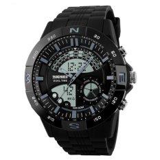 Harga Skmei Casio Men Sport Led Watch Water Resistant 50M Ad1110 Hitam Paling Murah