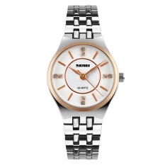 Toko Skmei Casio Woman Fashion Watch Water Resistant 30M 1133Cs Rose Gold Dekat Sini