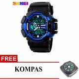 Jual Skmei Casio Women Sport Led Watch Water Resistant 50M Ad1117 Free Kompas Skmei