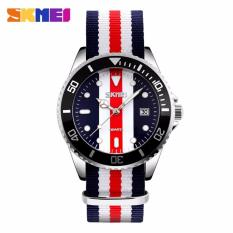 Jual Skmei Casual Men Colorful Army Strap Watch Water Resistant 30M 9133C Online