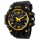 Top 10 Skmei Casual Men Rubber Strap Watch Water Resistant 50M Jam Tangan Kasual Pria Ad1155 Online