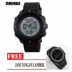Harga Skmei Casual Men Silicone Strap Watch Water Resistant 50M Dg1213 Free Jam Tangan Di Jawa Timur