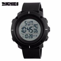 Review Skmei Casual Men Silicone Strap Watch Water Resistant 50M Dg1213 Jam Tangan Pria Casual Strap Silicon Berkualitas Hitam Hitam Terbaru