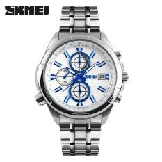 Ulasan Lengkap Skmei Casual Men Stainless Strap Watch Water Resistant 30M 9107Cs