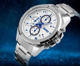 Promo Skmei Casual Men Stainless Strap Watch Water Resistant 30M 9109Cs Skmei Terbaru