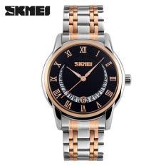 Harga Skmei Casual Men Stainless Strap Watch Water Resistant 30M 9122Cs Merk Skmei