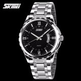 Promo Skmei Casual Men Strap Watch 9069Cs Water Resistant Anti Air Wr 30M Jam Tangan Pria Tali Strap Steel Wristwatch Wrist Watch Stylish Formal Elegan Design Hitam Dki Jakarta