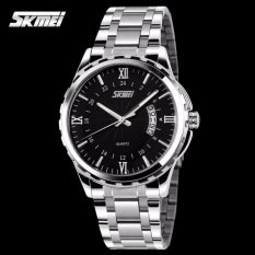 Katalog Skmei Casual Men Strap Watch 9069Cs Water Resistant Anti Air Wr 30M Jam Tangan Pria Tali Strap Steel Wristwatch Wrist Watch Stylish Formal Elegan Design Hitam Terbaru