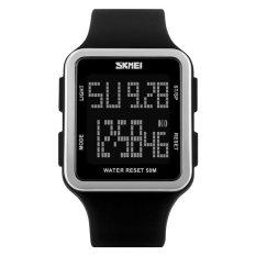 Skmei Casual Unisex Watch Water Resistant 50M 1139 Black Jawa Tengah Diskon