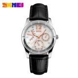 Spesifikasi Skmei Casual Women Leather Strap Watch Water Resistant 30M 6911Cl Jam Tangan Wanita Strap Kulit Original Garansi 1 Bulan Hitam Terbaru