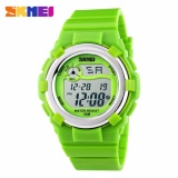 Review Terbaik Skmei Children Sport Silicone Led Watch Water Resistant 50M Jam Tangan Sport Anak Dg1161 Hijau