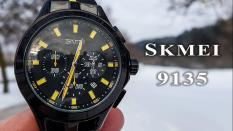Harga Skmei Chrono Men Sport Watch Rubber Strap 9135 Terbaik