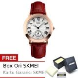 Beli Skmei Circlet Merah Jam Tangan Wanita Tali Kulit 1083 Fashion Merah Free Box Ori Skmei Skmei Online