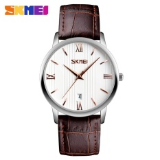 SKMEI Couple Watch Waterproof Belt Quartz Watch Male Plus Color 9130 - Lily - intl