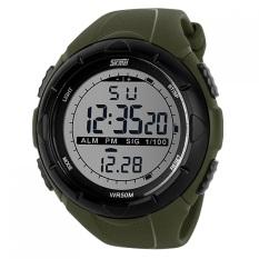 Beli Skmei Dg1025 Jam Tangan Sport Watch S Shock Water Resistant 50M Hijau Skmei Dengan Harga Terjangkau