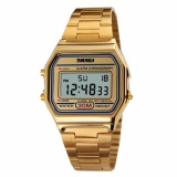 Beli Skmei Digital Casual Men Stainless Strap Watch Anti Air Water Resistant Wr 30M Dg1123 Jam Tangan Pria Formal Kerja Tali Besi Fashion Accessories Gold Online Murah