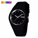 Beli Skmei Fashion Casual Ladies Watch 9068C Jam Tangan Analog Wanita Water Resistant Anti Air Wr 30M Tali Strap Silicone Karet Hitam Lengkap