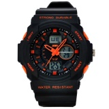 Dimana Beli Skmei Fashion Men S Sport Waterproof Rubber Strap Wrist Watch Orange 0955 Intl Skmei