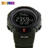 SKMEI Jam Tangan 1231 Pria Jam Tangan Digital Outdoor Kompas Sport Watch Alarm Countdown Ketepatan Waktu Tahan Air Relogio Masculino | Lazada Indonesia