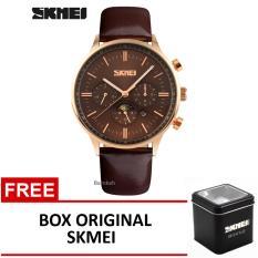 Harga Skmei Jam Tangan 9117Cl Coklat Box Original Skmei Murah