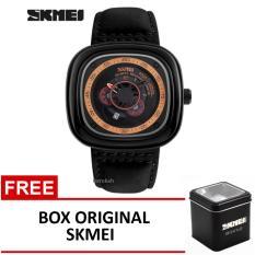 Review Skmei Jam Tangan 9129 Black Box Original Skmei Terbaru