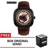 Ulasan Lengkap Skmei Jam Tangan 9129 Coklat Box Original Skmei