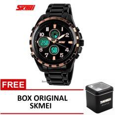 Toko Skmei Jam Tangan Ad1021 Black Gold Box Original Skmei Terlengkap Di Jawa Timur
