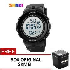 Promo Skmei Jam Tangan Ad1127 Black Box Original Skmei Murah