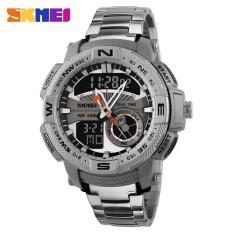 Spesifikasi Skmei Jam Tangan Analog Digital Pria Ad1121 Silver Terbaik