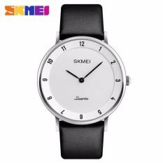 Harga Skmei Jam Tangan Analog Pria Pu Leather 1263 Skmei Original Jam Tangan Pria Original Silver Putih Online
