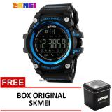 Skmei Jam Tangan Bluetooth 1227 Black Blue Box Original Skmei Skmei Diskon 40