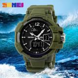Harga Termurah Skmei Jam Tangan Digital Analog Pria Ad1040 Army Green