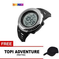 Diskon Skmei Jam Tangan Digital Pria Dg1140 Black Free 1X Topi Adventure Skmei Jawa Timur