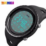 Beli Skmei Jam Tangan Digital Strap Silicon Day Date Stopwatch Black Seken