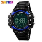 Beli Skmei Jam Tangan Olahraga Smartwatch Bluetooth Dg1226 Bl Black Blue Dengan Kartu Kredit