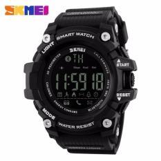 Beli Skmei Jam Tangan Olahraga Smartwatch Bluetooth Dg1227 Bl Anti Air Water Resistant Wr 50M Jam Tangan Pria Strap Karet Sport Pedometer Calorie Watch Black Skmei Murah
