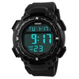 Promo Skmei Pioneer Digital Sport Jam Tangan Pria Dg1067 Anti Air Water Resistant Wr 50M Fortino Strap Tali Karet Silicone Watch Hitam