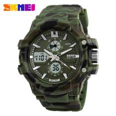 Miliki Segera Skmei Jam Tangan Sport S Shock Sport Watch Water Resistant 50M Ad0990 Army Green Kualitas Original Garansi 1 Bulan