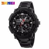 Jual Skmei Jam Tangan Sporty Men Sport Analog Led Watch Water Resistant 50M Ad1121 Hitam Ori