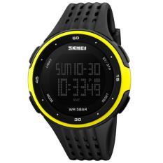 Perbandingan Harga Skmei Man Sport Led Watch Water Resistant 50M Dg1219 Hitam Kuning Skmei Di Dki Jakarta