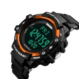 Jual Skmei Pria 3D Pedometer Heart Rate Monitor Kalori Counter Fitness Tracker Digital Led Display Watch Luar Ruangan Olahraga Watches 1180 Skmei Intl Satu Set