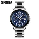 Spesifikasi Skmei Kuarsa Bisnis Pria Watches 30 M Waterproof S Watch Casual Enam Pin Jam Tangan 9126 Skmei Biru Merk Skmei